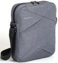 """Kingsons Tablet Bag 10.1"""" K8517W-G :: Sliced series - Grey"""