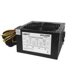 захранване PSU 550W PFC Version 2 - MAKKI-ATX-550V2
