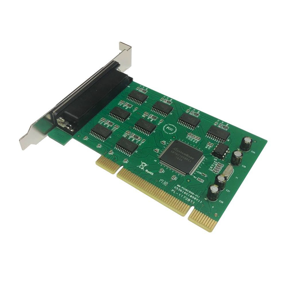 PCI card to 8 x Serial port - MAKKI-PCI-8XSERIAL-V1
