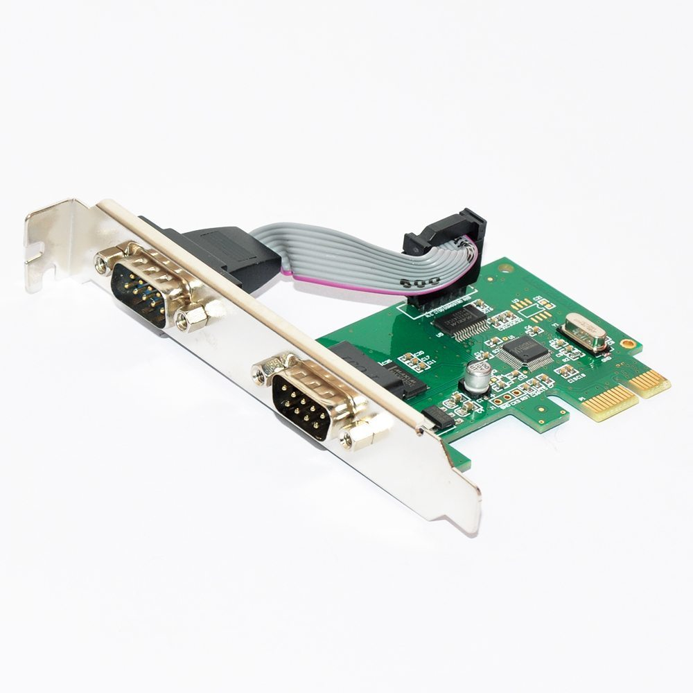 PCI-E card 2 x Serial port - MAKKI-PCIE-2XSERIAL-V1