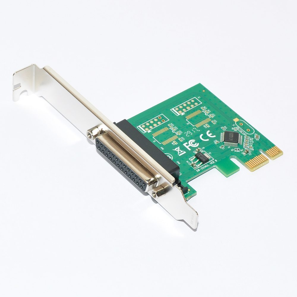 PCI-E card Parallel port - MAKKI-PCIE-PARALLEL-V1