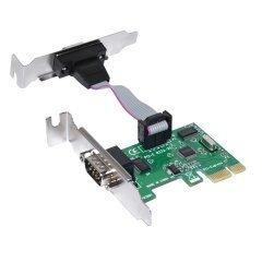 нископрофилна карта Low Profile PCI-E card to 2 x Serial port - MAKKI-PCIE-SERIAL-LP