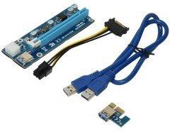 Екстендер MAKKI Mining Riser PCI Express 1x to 16x - 270uf - MAKKI-SR135-270