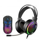 Геймърски комплект Gaming COMBO MH01 Black 2-in-1 - Headset, Mouse - RGB - MARVO-MH01BK
