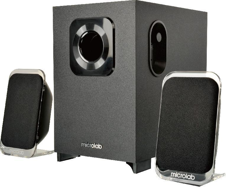 Тонколони Speakers 2.1 Blueooth M-113BT black 24W RMS