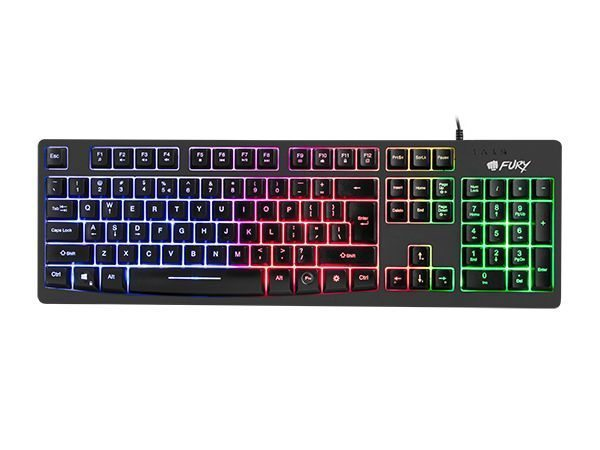 Геймърска клавиатура Gaming Keyboard HELLFIRE RGB NFU-0867