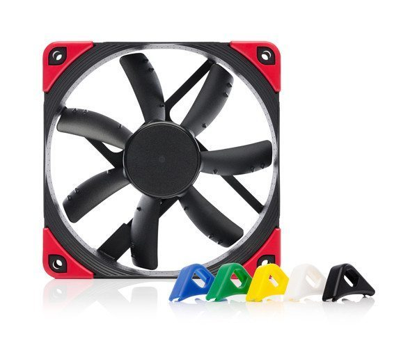 Noctua вентилатор Fan 120mm NF-S12A PWM Chromax.black.swap