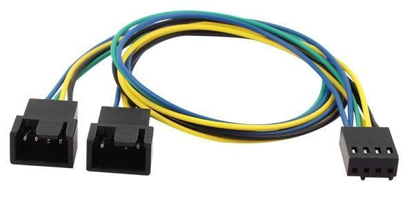 Fan splitter 10cm - Y-Split PWM