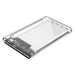 външна кутия за диск Storage - Case - 2.5 inch TYPE C Transparent - 2139C3-CR