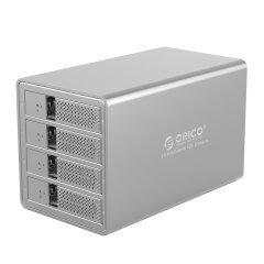 докинг станция Storage - HDD Dock - 4 BAY with RAID, Aluminium - 9548RU3