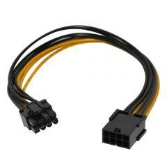 Mining PCI-E 8pin Extension cable 30cm - MAKKI-CABLE-PCIE8-EXTENSION-30cm