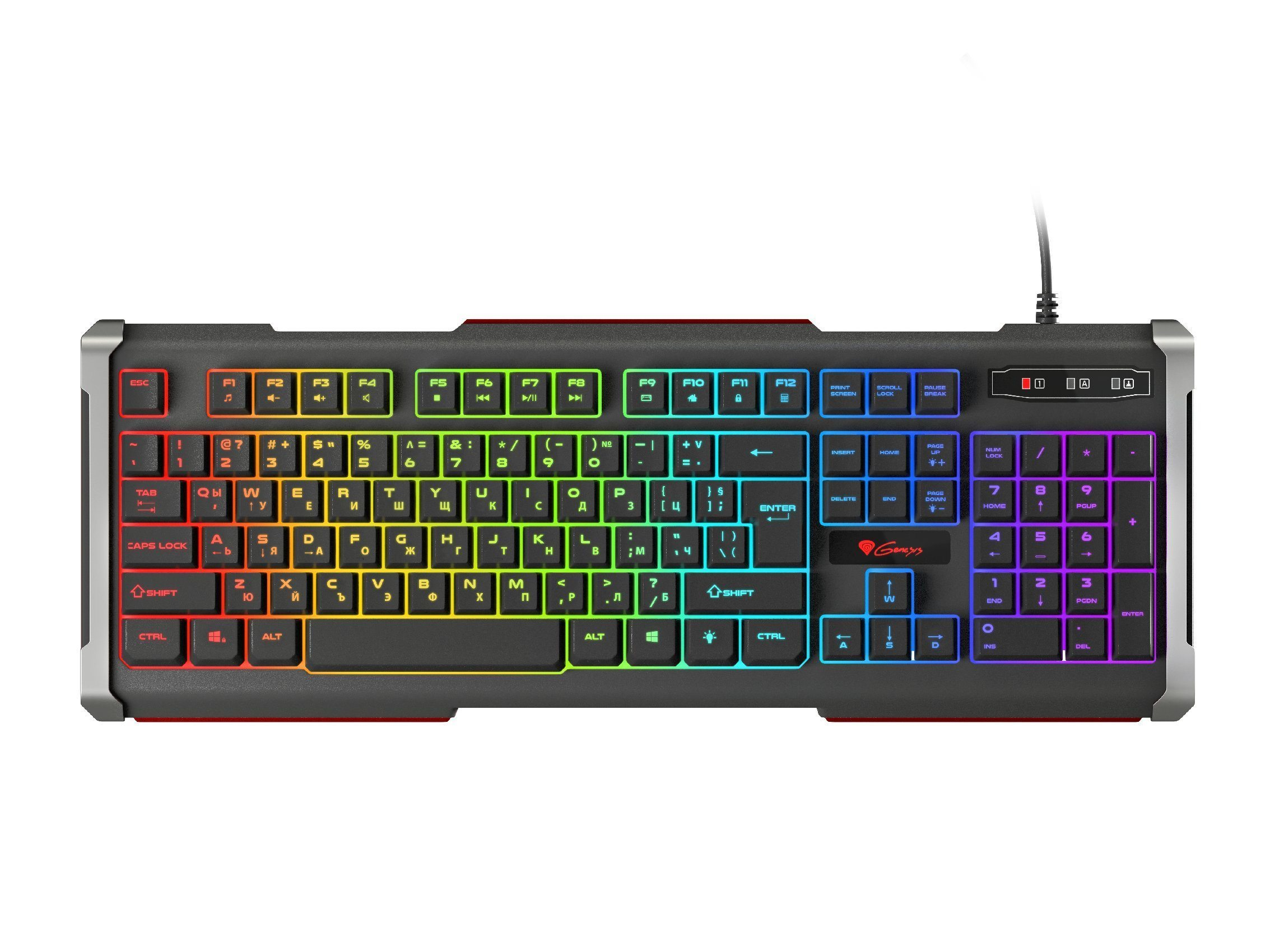 Gaming Keyboard RHOD 400 RGB Bulgarian Layout - NKG-1362