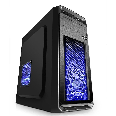 Кутия с захранване Case ATX S1-BK-500 - S1 Case /w 500W PSU/1x120mm fan