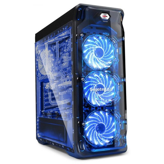 Кутия Case ATX - LUX-II-BK
