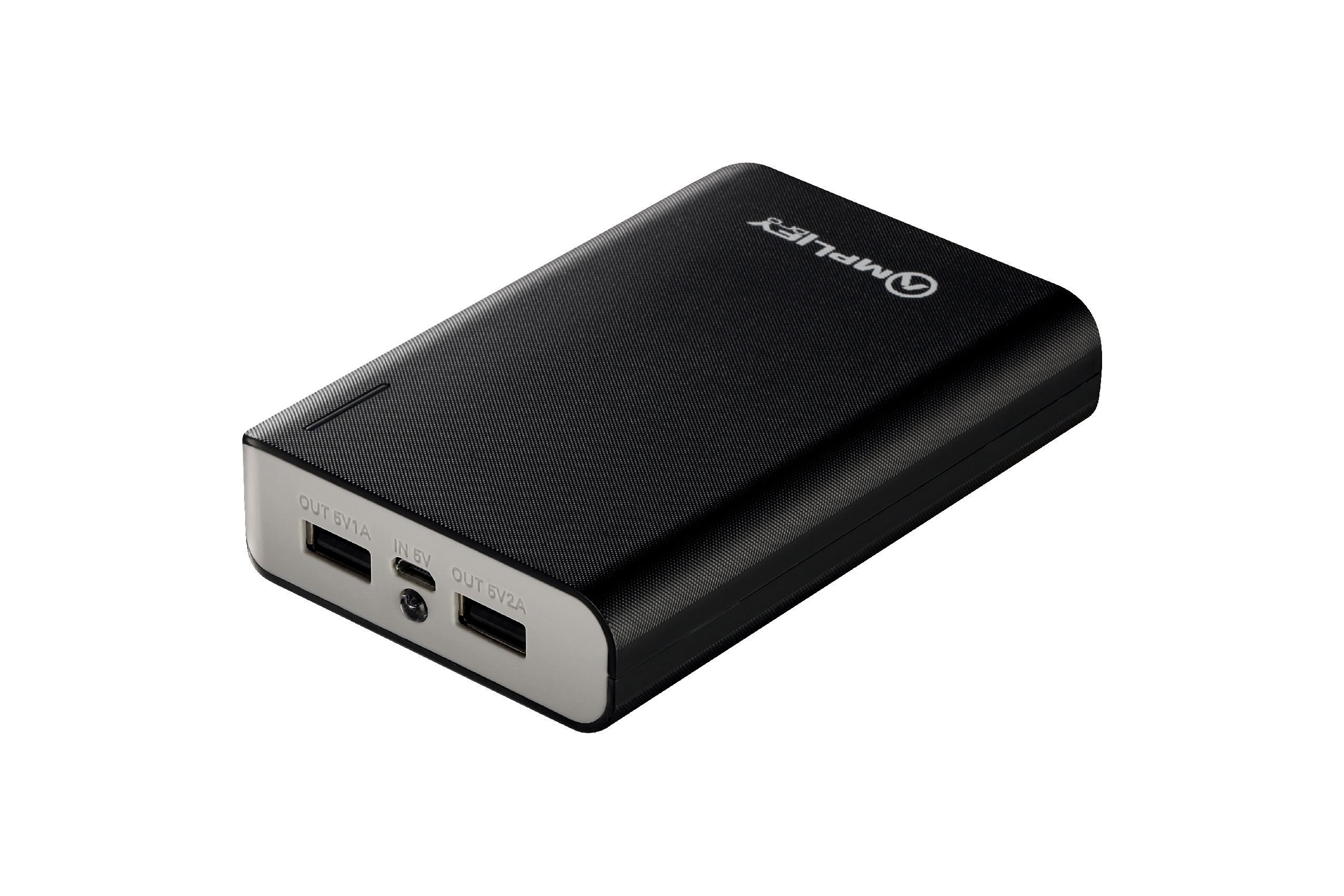 преносима батерия Spark Series Power Bank 10000mAh - AMP-9000-BKGR
