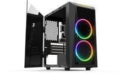 Кутия Case mATX - Talos E1 - Addressable RGB, Tempered glass