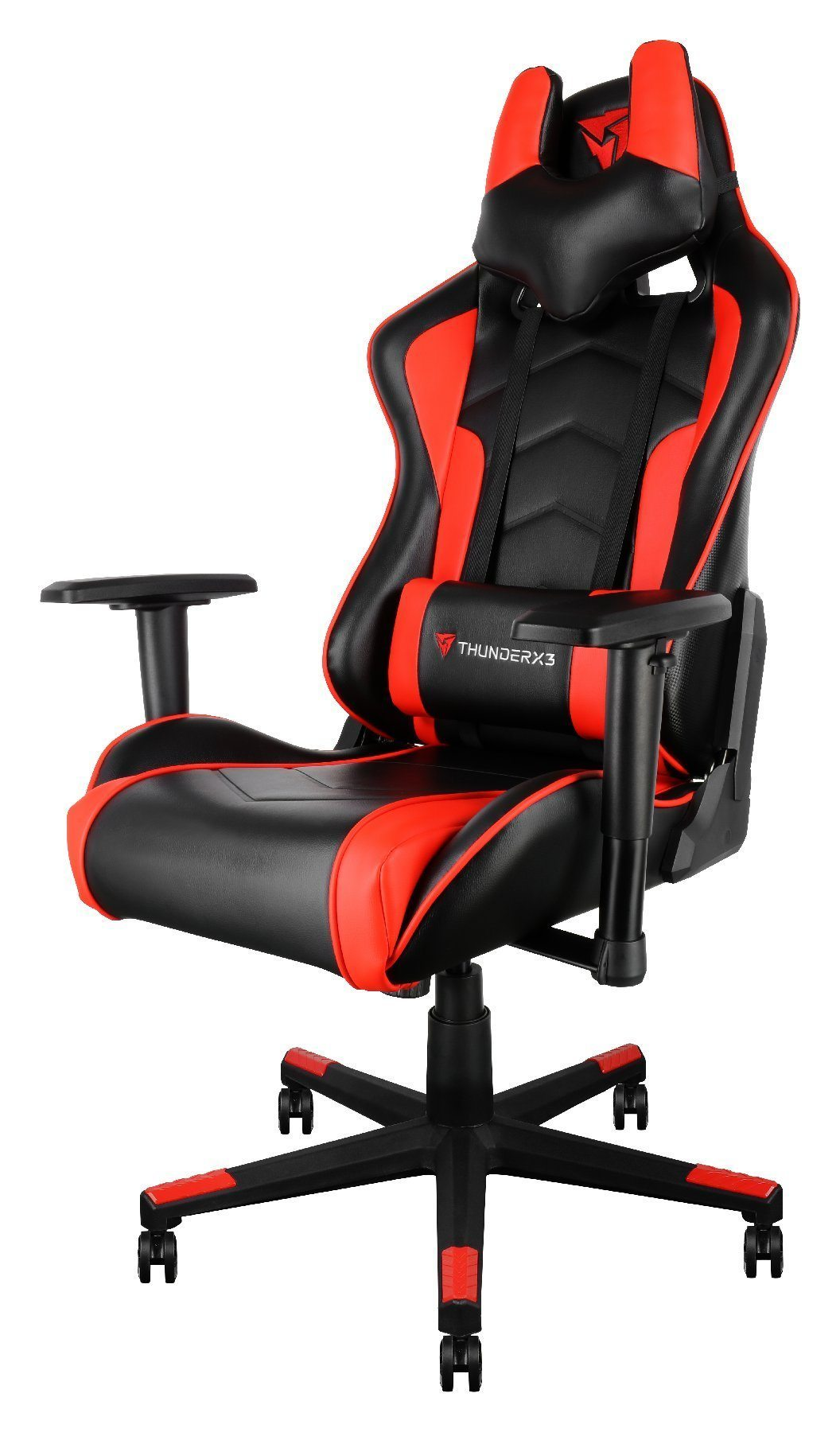 геймърски стол THUNDERX3 Gaming Chair TGC22-Black-Red