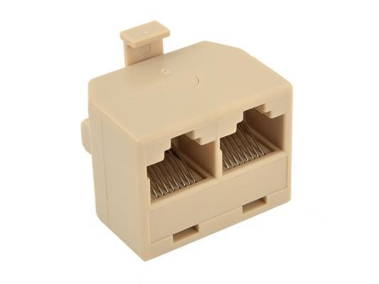 VCom съединител LAN Coupler 1 Male / 2 Female - CT253