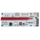 Екстендер Mining Riser/Extender PCI Express 1x to 16x v.8 - 270uf - MAKKI-SR138-270