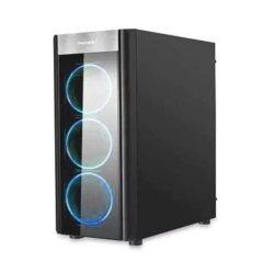 кутия Case ATX WIDER X3 Blue LED - SG-WIDER-X3-BK