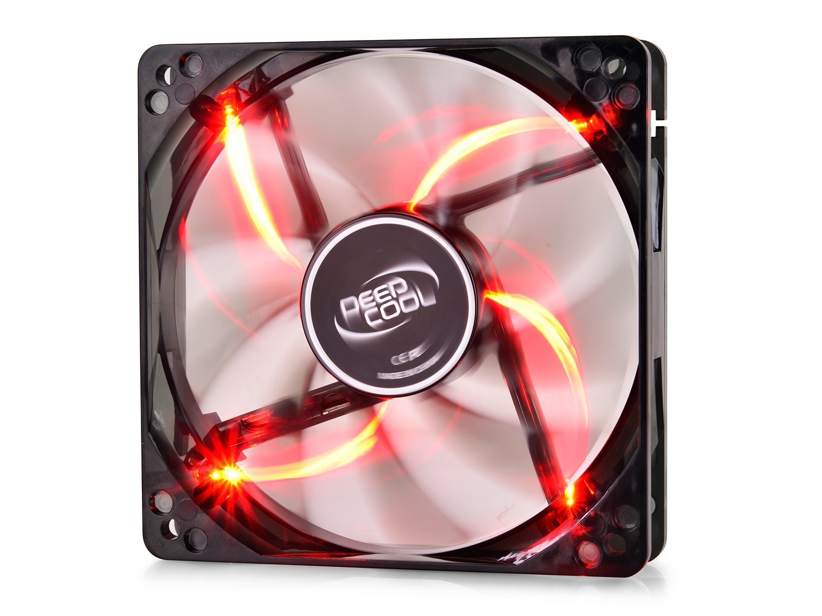 DeepCool Fan 120mm Red LED - WIND BLADE 120 - 1300rpm