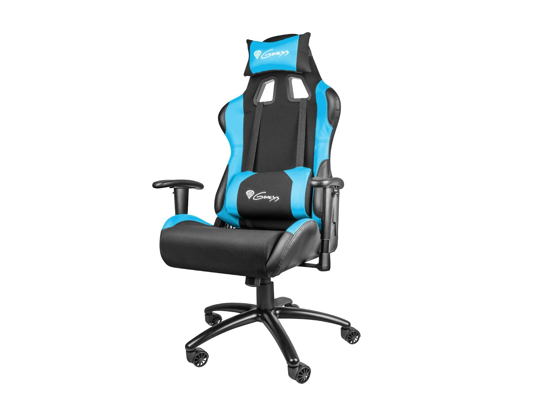 геймърски стол Gaming Chair NITRO 550 - Black/Blue - NFG-0783