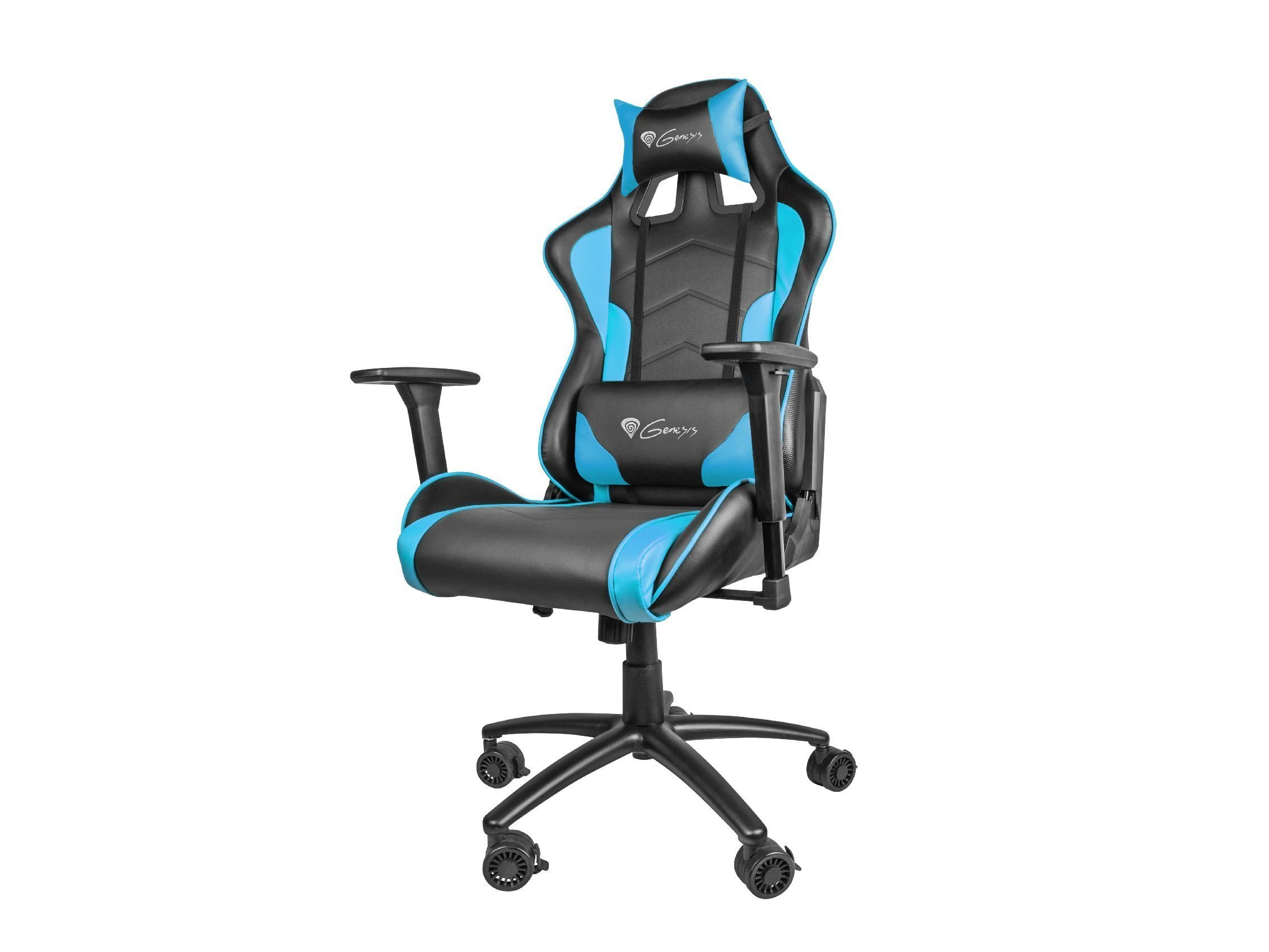 геймърски стол Gaming Chair NITRO 880 - Black/Blue - NFG-0786