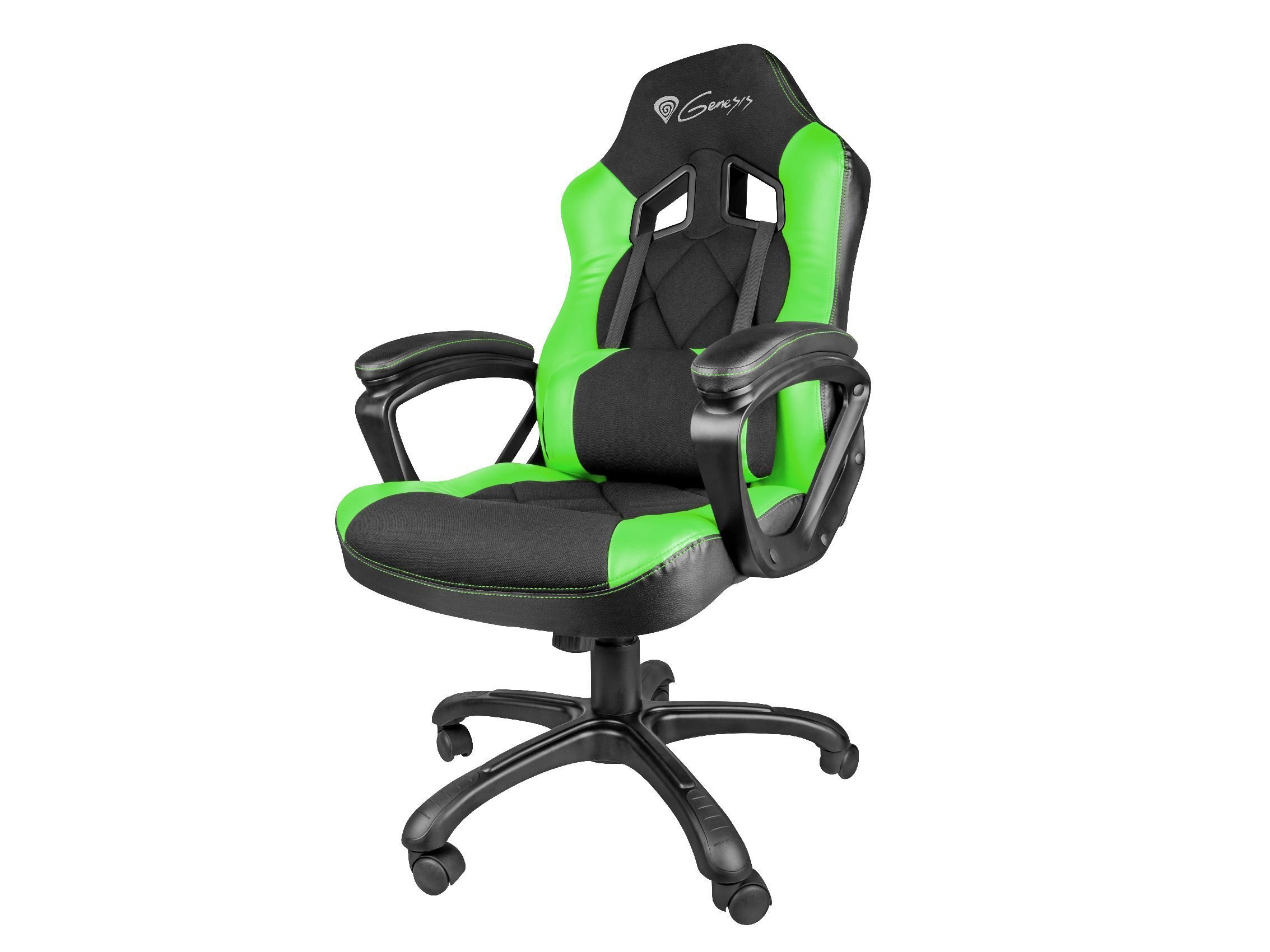 Геймърски стол NITRO 330 (SX33) Gaming Chair - Black/Green - NFG-0906