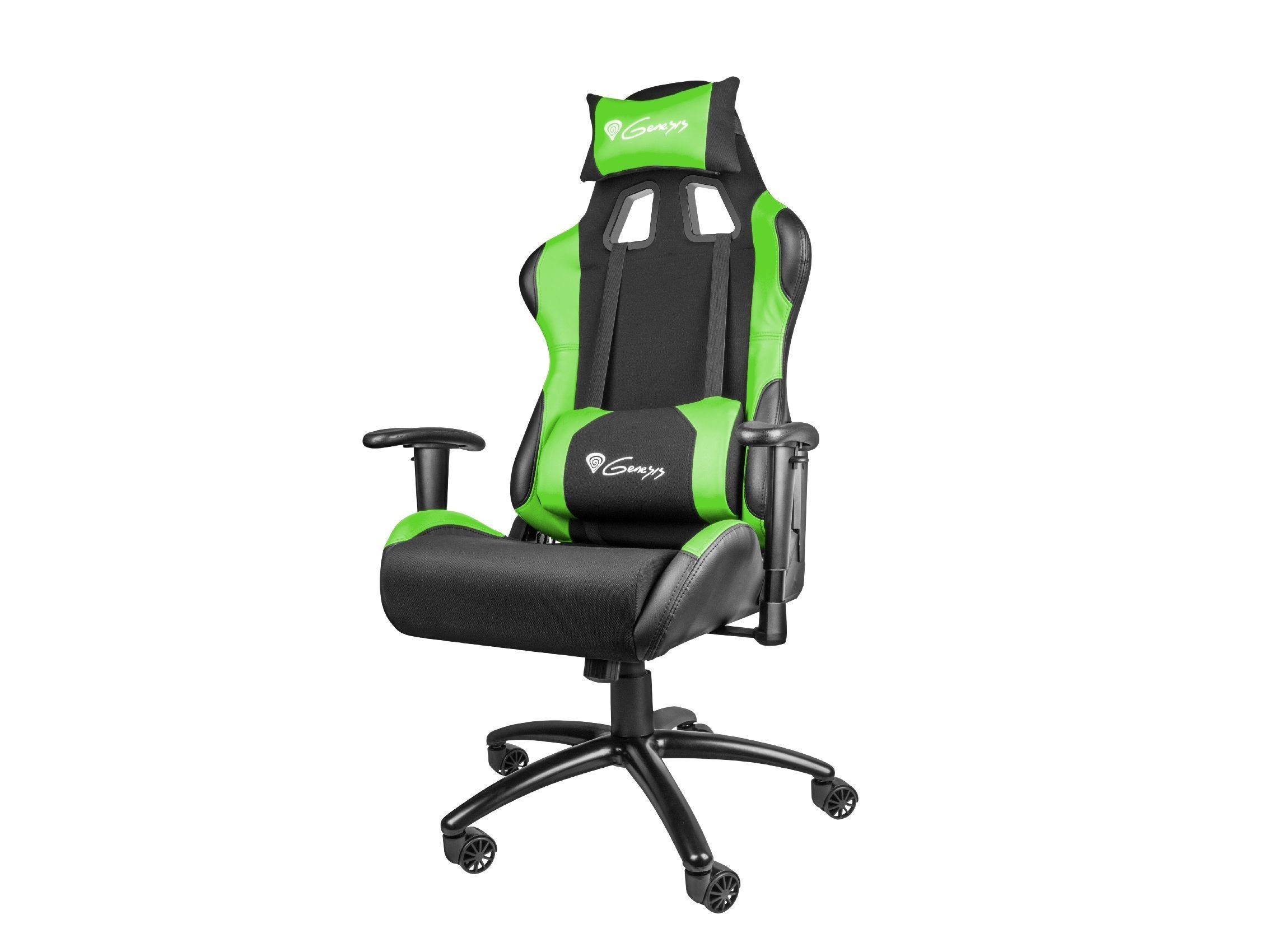 геймърски стол Gaming Chair NITRO 550 - Black/Green - NFG-0907