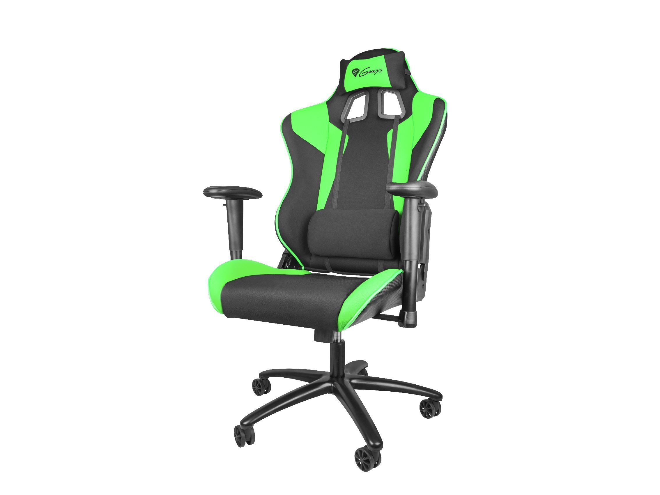 геймърски стол Gaming Chair NITRO 770 - Black/Green - NFG-0908