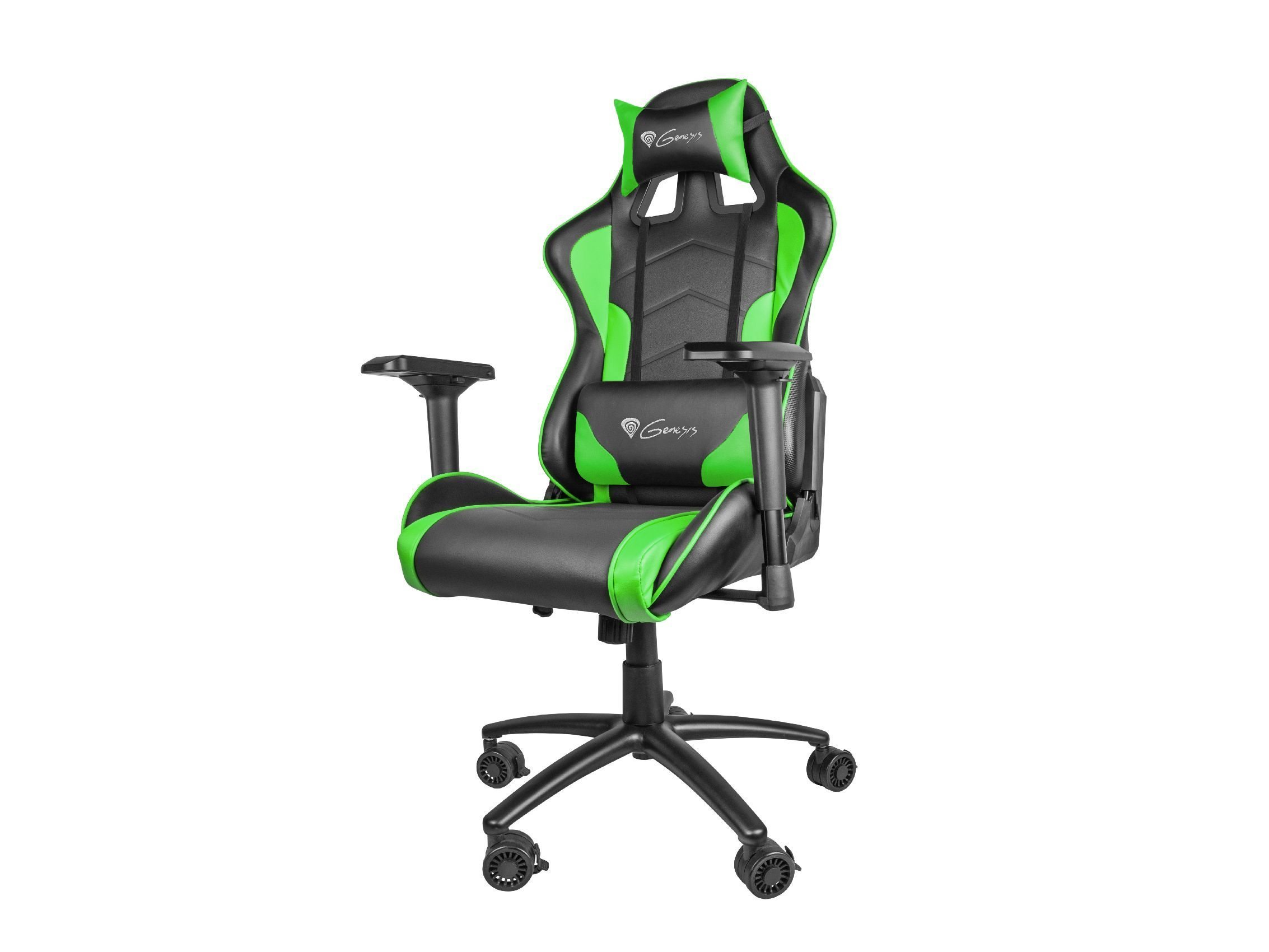 геймърски стол Gaming Chair NITRO 880 - Black/Green - NFG-0909