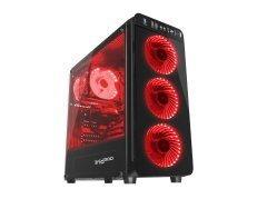геймърска кутия Case Gaming ATX - IRID 300 RED - NPC-1131