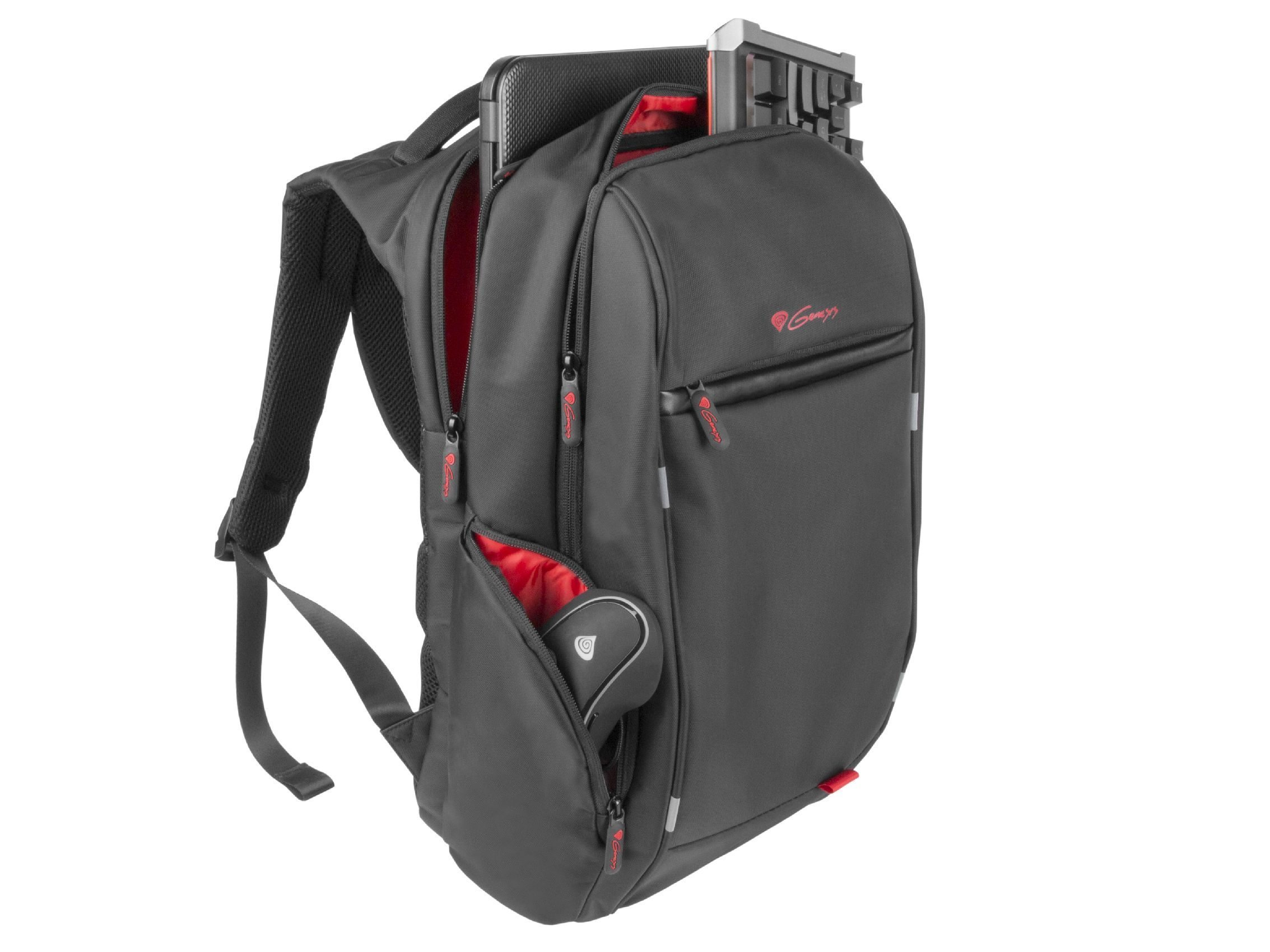 "Backpack Laptop 15.6"" USB - PALLAD 400 - NBG-1121"