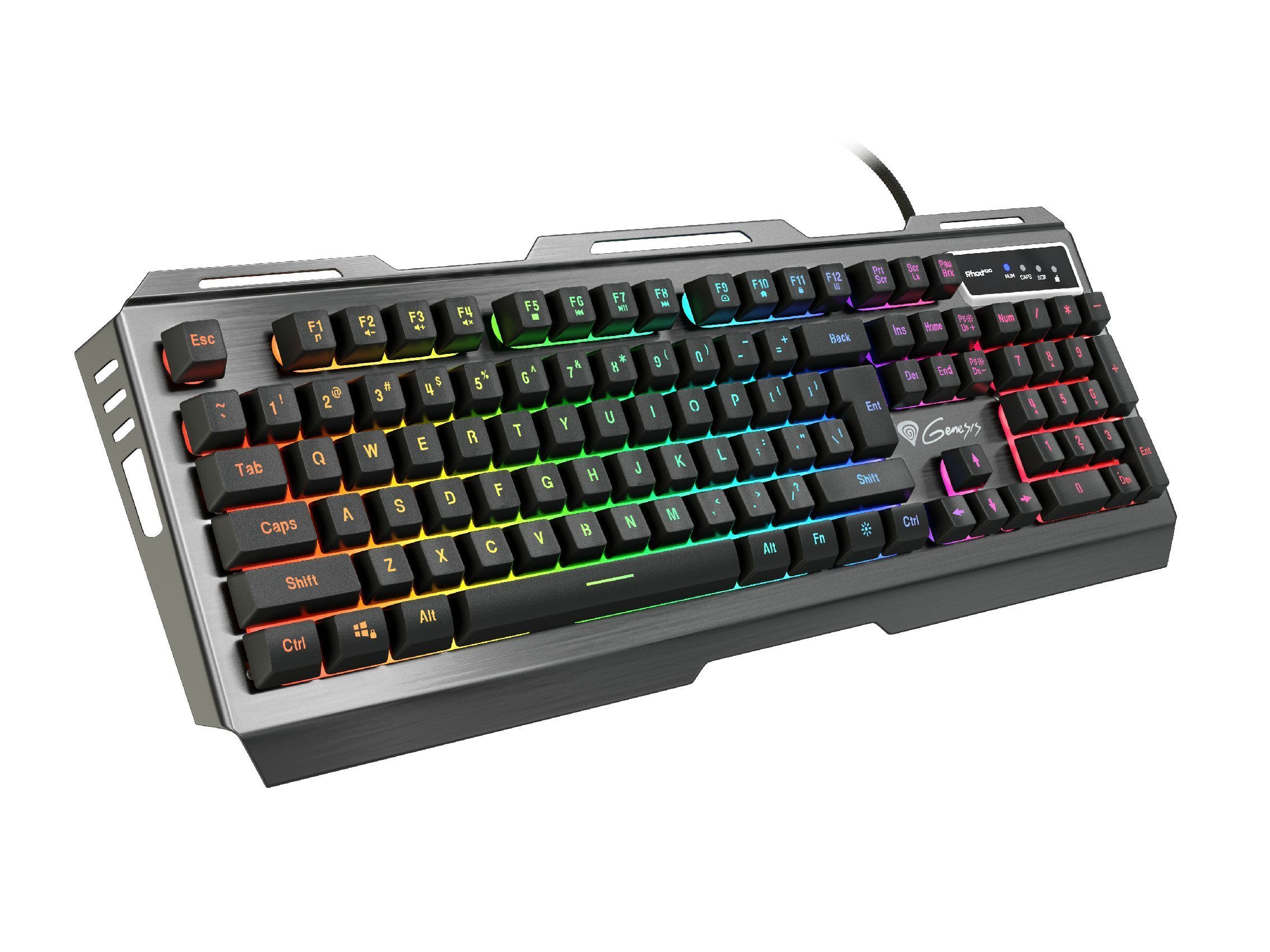 геймърска клавиатура Gaming Keyboard RHOD 420 RGB - NKG-1234