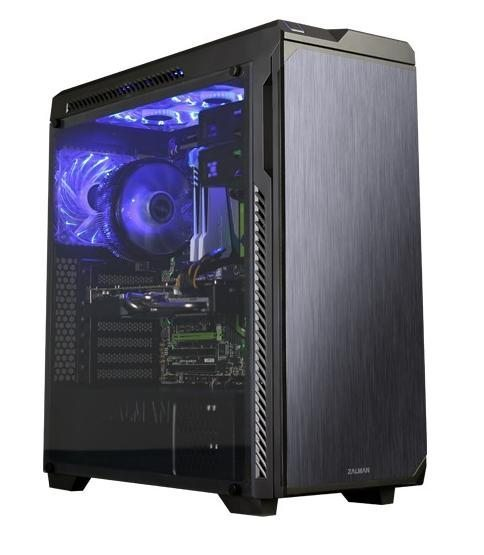 Zalman Кутия за компютър Soundproof Case ATX Z9 NEO PLUS BLACK