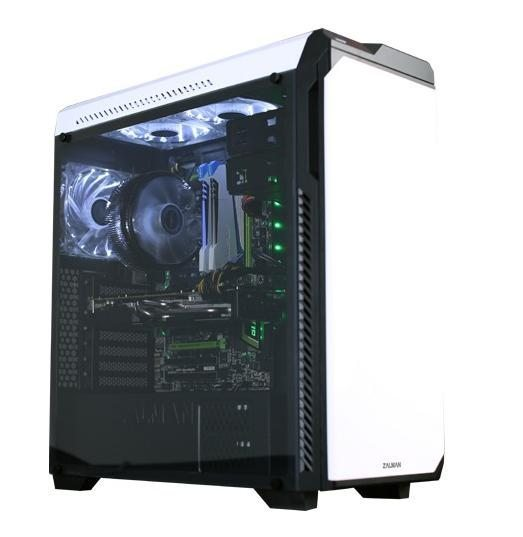 Кутия за компютър Soundproof Case ATX Z9 NEO PLUS WHITE