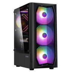 кутия за компютър Case ATX - N4 - RGB, Tempered Glass